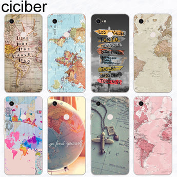 World Map Travel Plan Phone Case