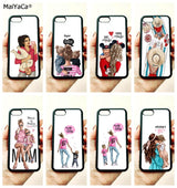 Mum & Baby Art Soft Edge Phone Cases