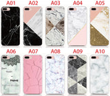 Marble Back Cover Protective Phone Cases