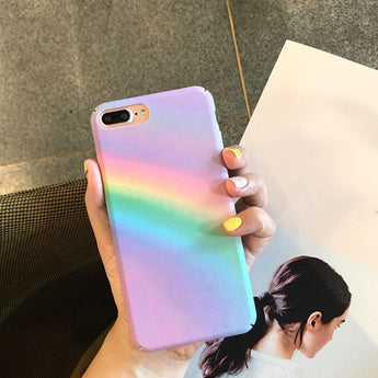Rainbow Back Cover For iphone