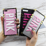 """Pink"" Bling Glitter Phone Case for iPhones"