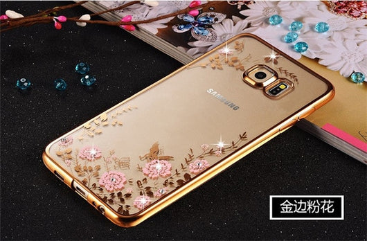 Bling Diamond Clear Case for Samsung