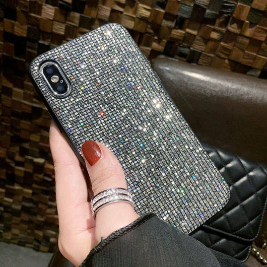 Luxury Bling Sequins Diamond Phone Case for iPhones