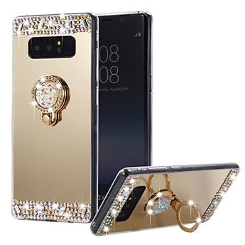 Bling Luxury Mirror Phone Case For Samsung