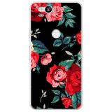Luxury Flower Leaves Phone Cases For Google Pixel
