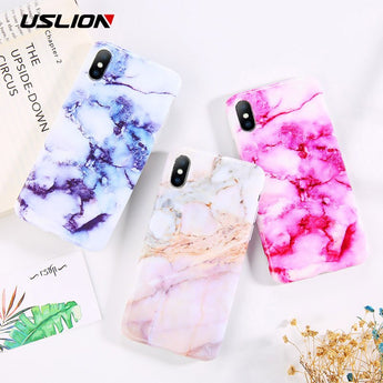 Marble Flower Phone Case