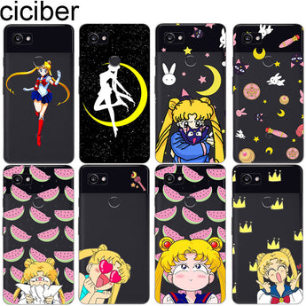 Anime Kawaii Sailor Moon Soft TPU Cases
