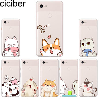 Animal Cat Dog Phone Cases