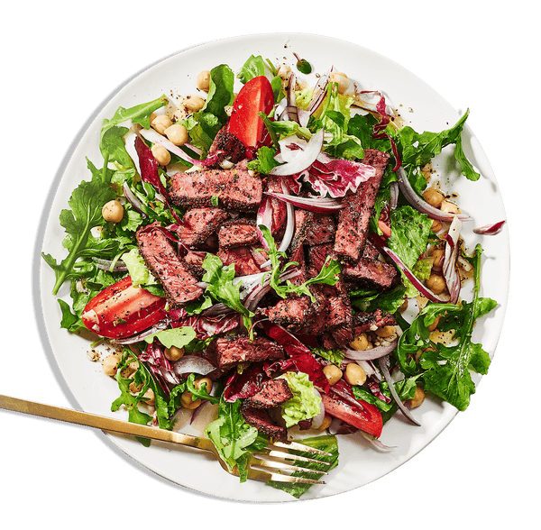 Coffee Rubbed Steak Salad | Coco Food Co.
