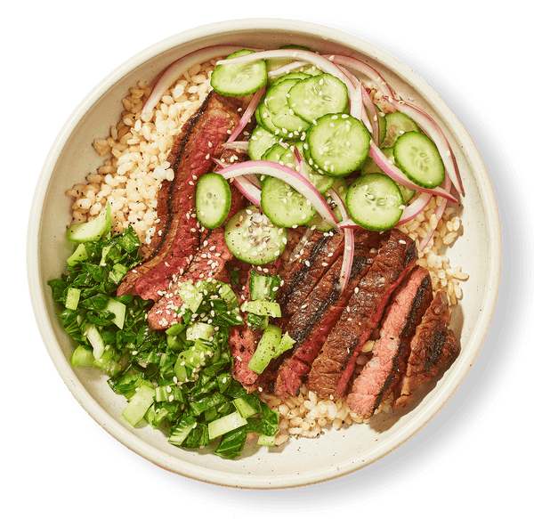 Grilled Teriyaki Steak Bowl | Coco Food Co.