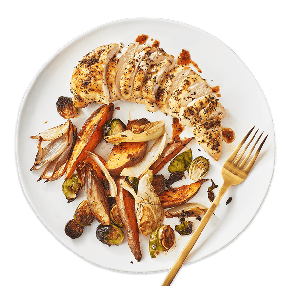 Sheet-Pan Herb Roasted Chicken | Coco Food Co.