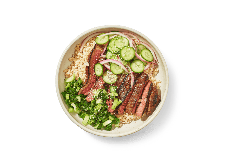 Grilled Teriyaki Steak Bowl