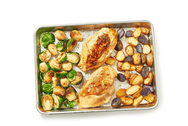 One-Pan Honey Mustard Roasted Chicken