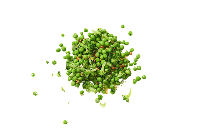 Peas and Broccoli