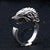 Rog Nordic Wolf Stainless Classic Ring