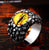 Rog Claw Zircon Stone Evil Eye CZ Ring
