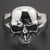 Stainless Huge Heavy Skull Punk Cuff Bracelet