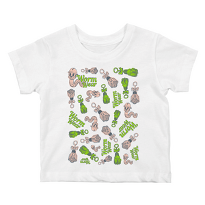 Worm Wear Mash-up Toddler Tee