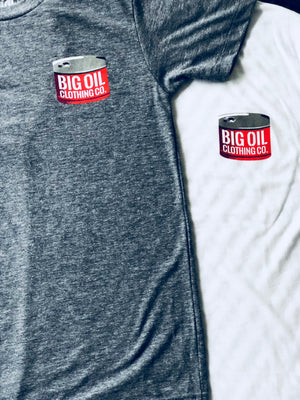 Big Oil Barrel Shirt - Grey