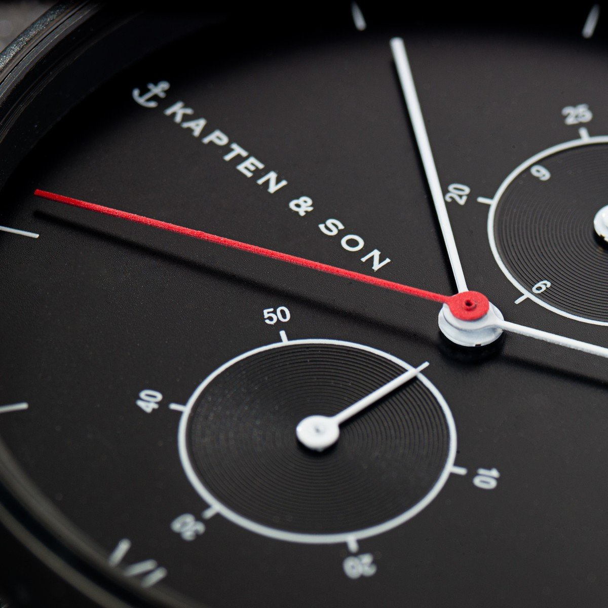 "Chrono Black ""Midnight Steel"""