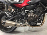 Yamaha MT07 FZ07 & XSR Tracer Vandemon Stainless Steel Exhaust System 2014-19