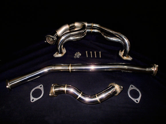 Toyota 86 Subaru BRZ Vandemon Cat Delete Headers and Link Pipes