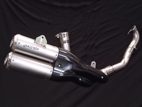 Ducati Supersport 939 Vandemon Side Mount Titanium Exhaust System 2017-19