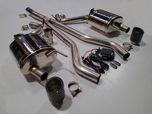 Ford Mustang 2.3 ECO Boost Vandemon Electronic Valved Catback Stainless Exhaust System