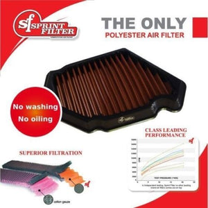 Sprint Filter P08 Polyester Air Filter for Kawasaki Ninja H2 & SE/SX 2015 -2018