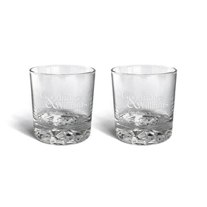 Whisky Glasses x 2