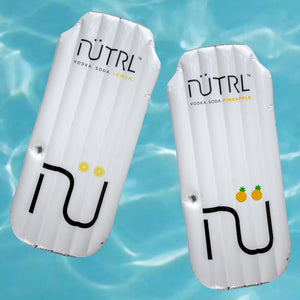 Two Nütrl Vodka Soda Inflatable Pool Floaties