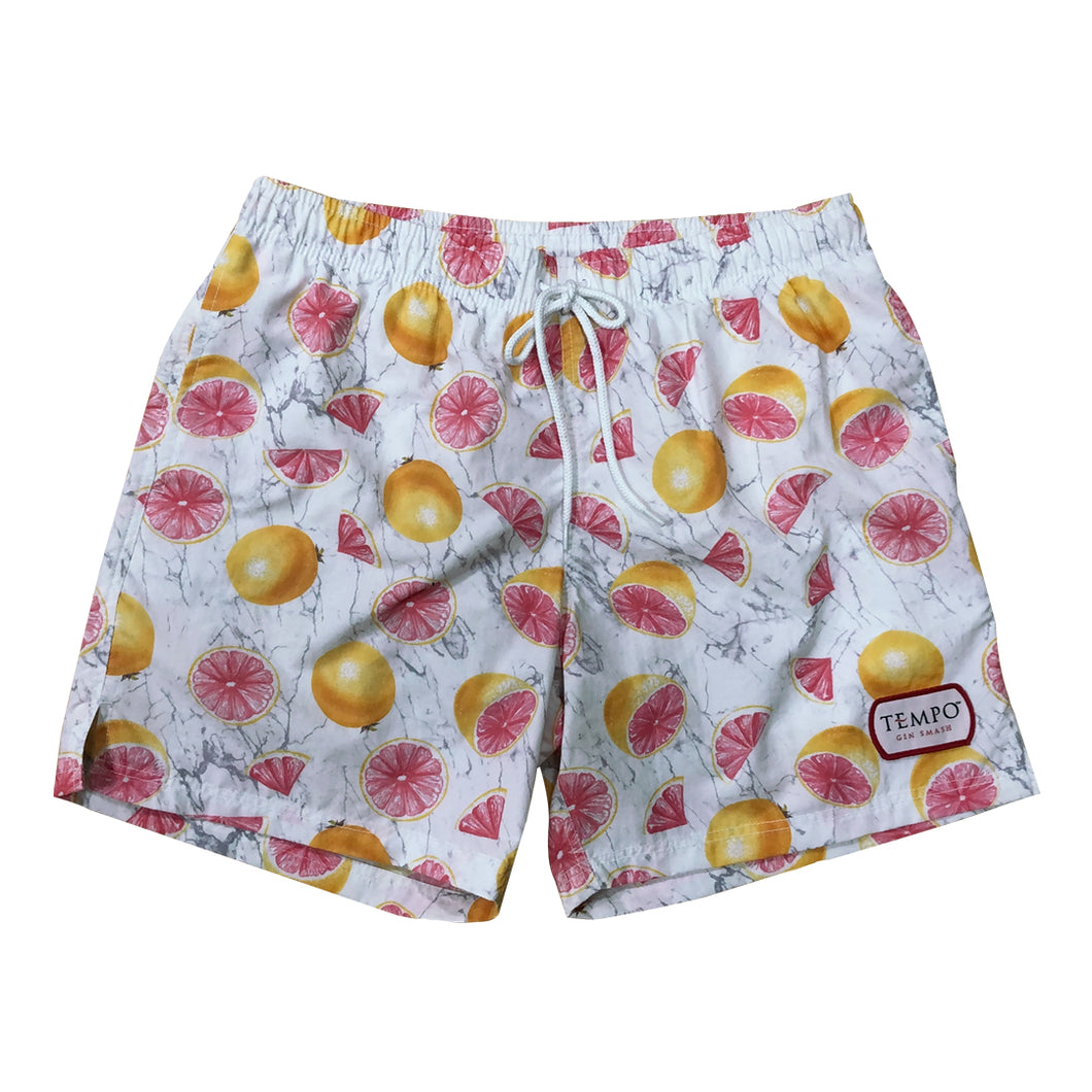 Tempo Gin Smash Grapefruit Swim Shorts