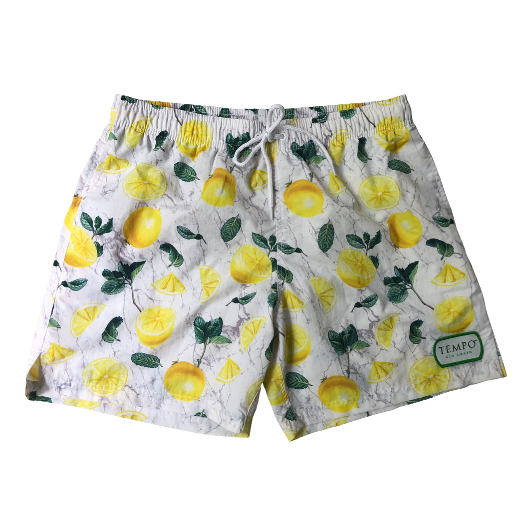 Tempo Gin Smash Lemon Mint Swim Shorts