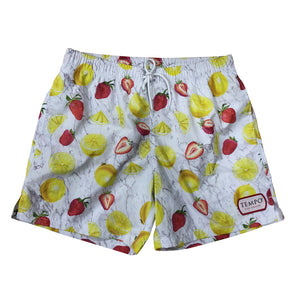Tempo Gin Smash Strawberry Lemon Swim Shorts