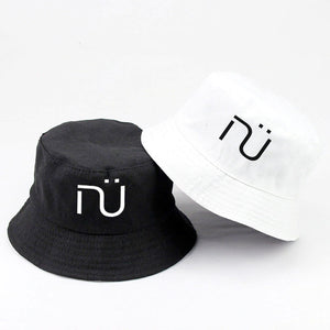 NÜ Bucket Hats x2 (1 White & 1 Black)