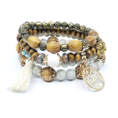 Tribal Bracelet Stack