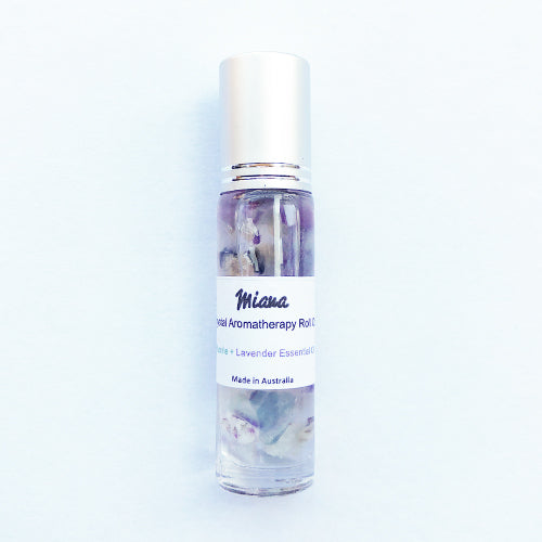 Fluorite Crystal Aromatherapy roll on