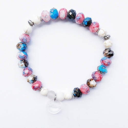 Cherry Pop Mosaic Bracelet