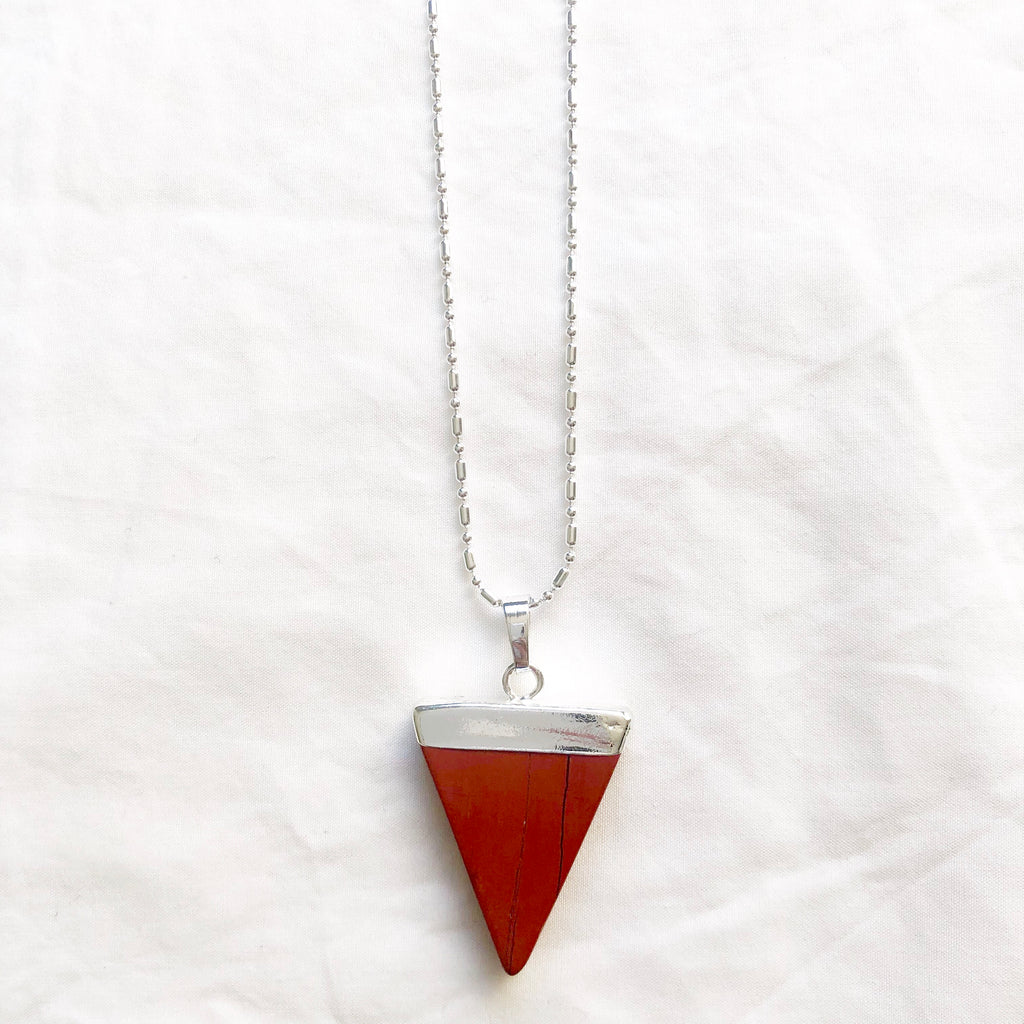 Red Jasper Triangle
