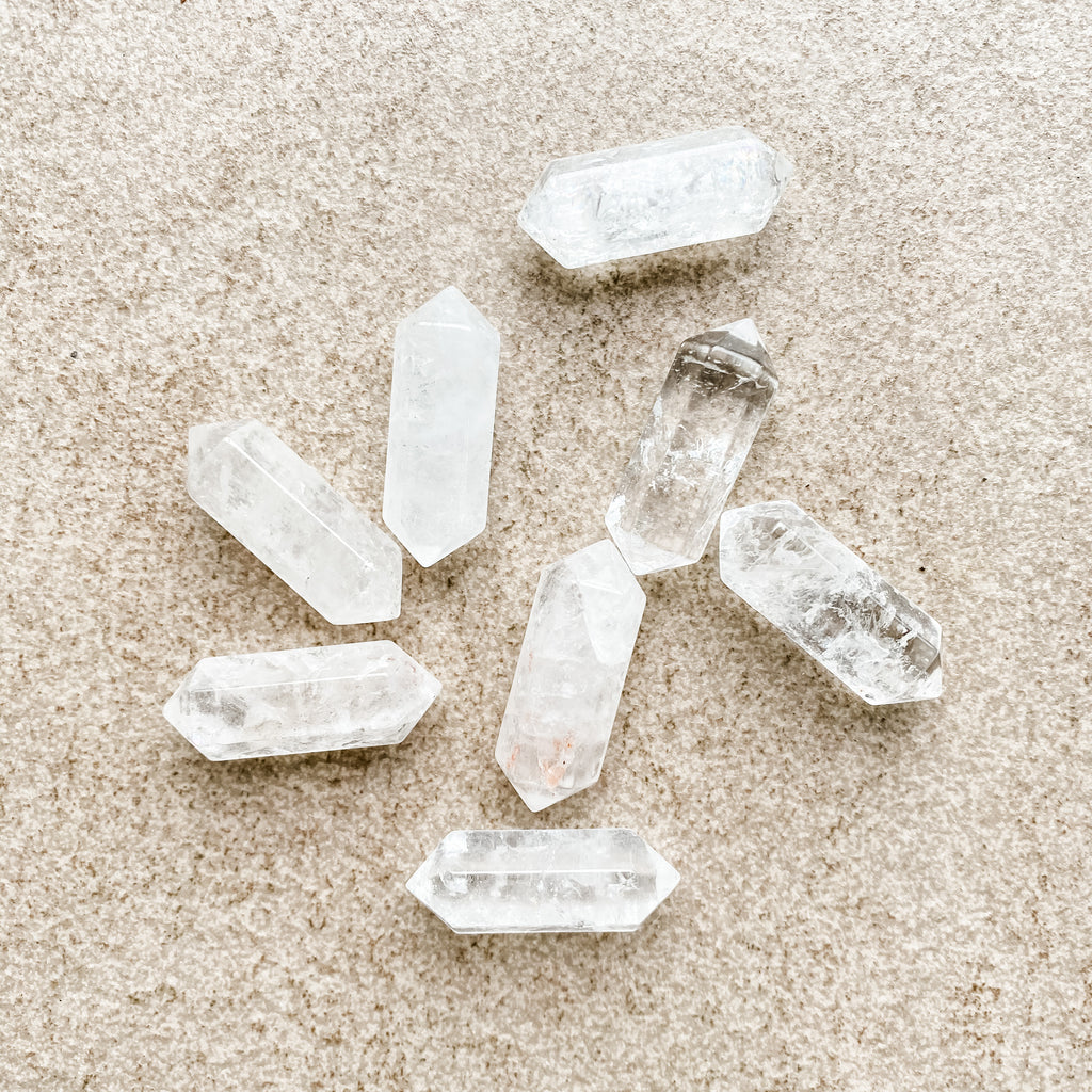 Clear Quartz Double Point