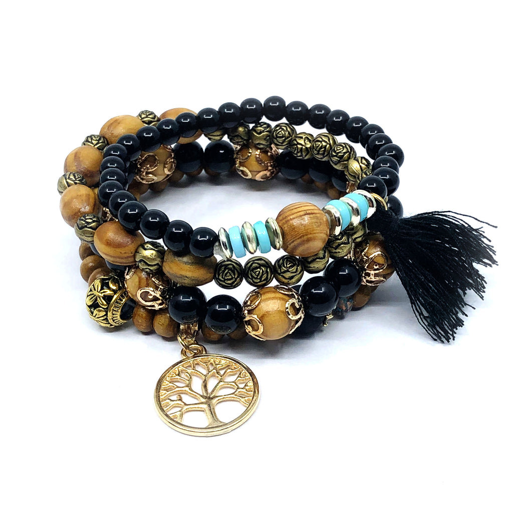Warrior Bracelet Stack