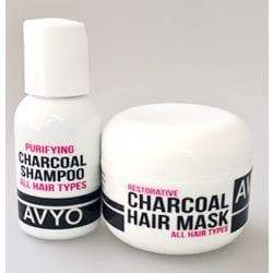 Charcoal Shampoo and Mask (Travel Size) | AVYO | AVYO | SHSalons.com