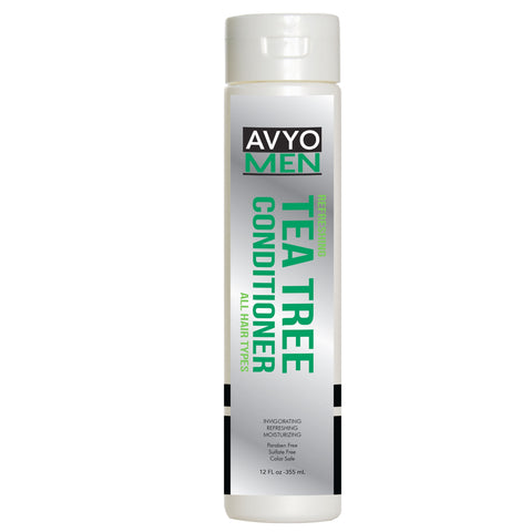 Men Tea Tree Conditioner | 12 FL oz -355 mL | Shiva Laboratories