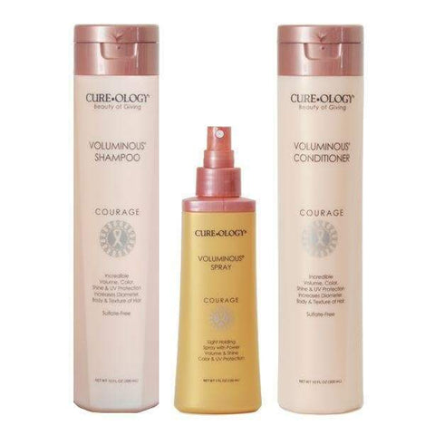 Voluminous Gift Set | CUREOLOGY BEAUTY | SHSalons.com