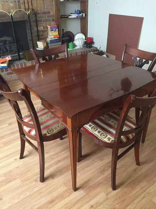 Antique 3-in-1 Mahogany Dining Table & Desk