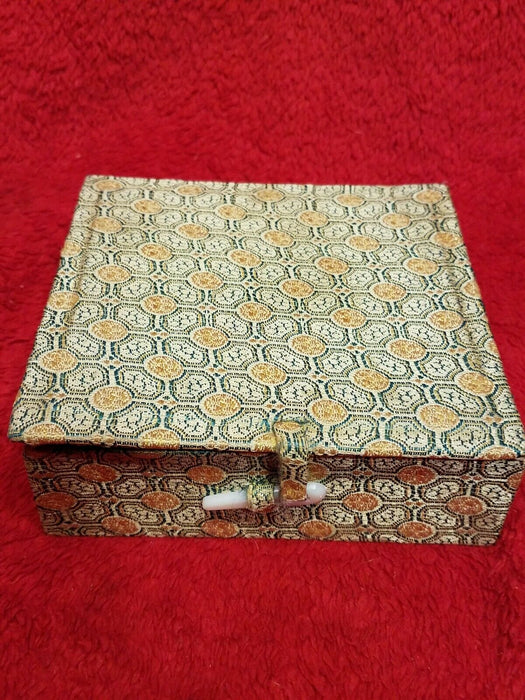 Chinese Marble Stamp Seal Set w/ Ink and Box Maya