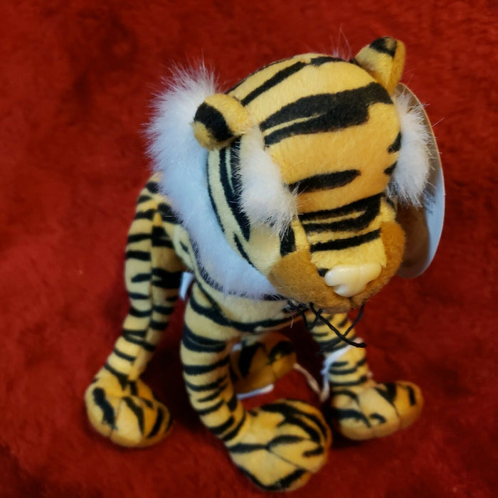 "Italian Giochi Preziosi baby tiger stuffed toy animal ""I Supersnodati"""