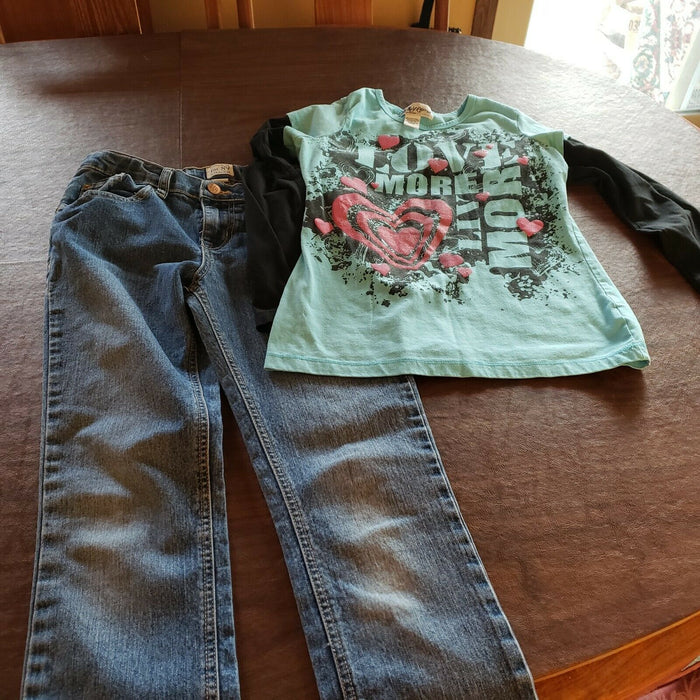 LOT 20: Girls Outfits, Size 10/12, Spring/Summer