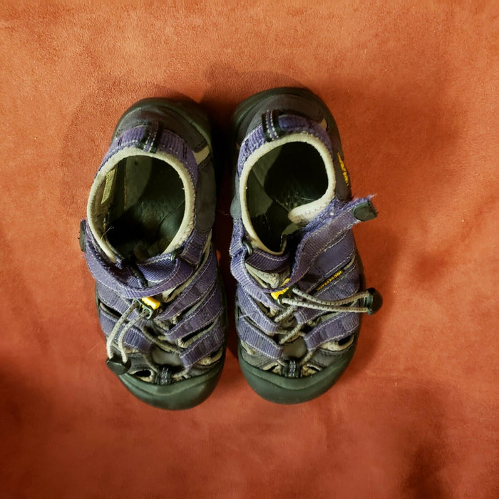 KEEN TENNIS SHOES Purple & Black GIRLS SIZE 3
