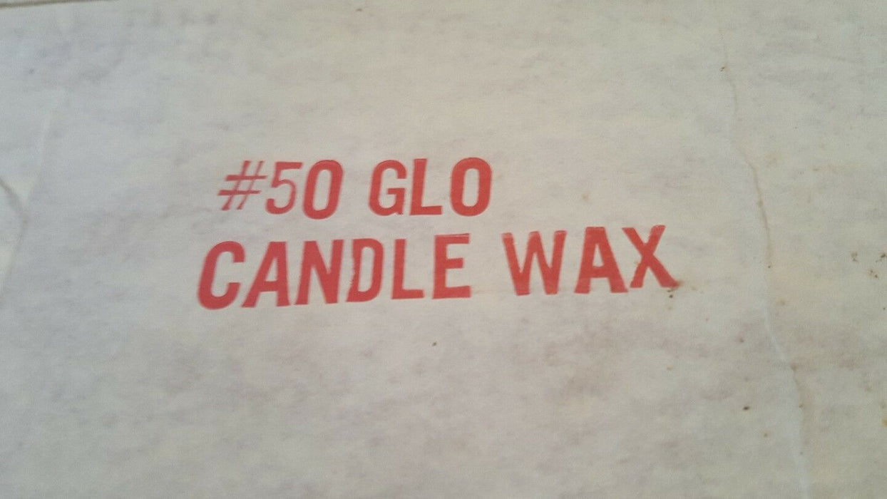 Farmland Industries Glo-Candle Making Wax-10 Pound Block #50